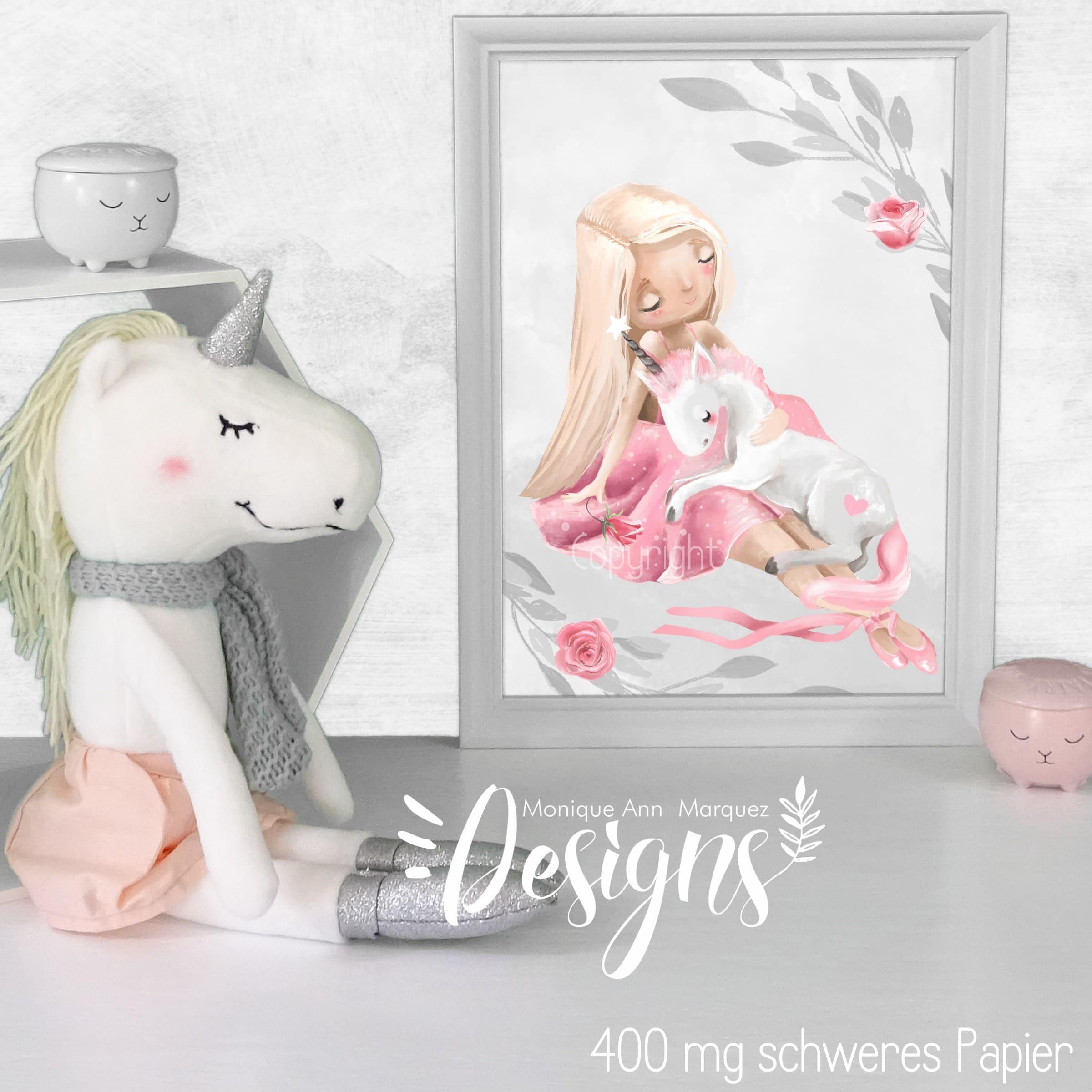 kinderzimmer bilder set tiere prinzessin ballerina baby. Black Bedroom Furniture Sets. Home Design Ideas