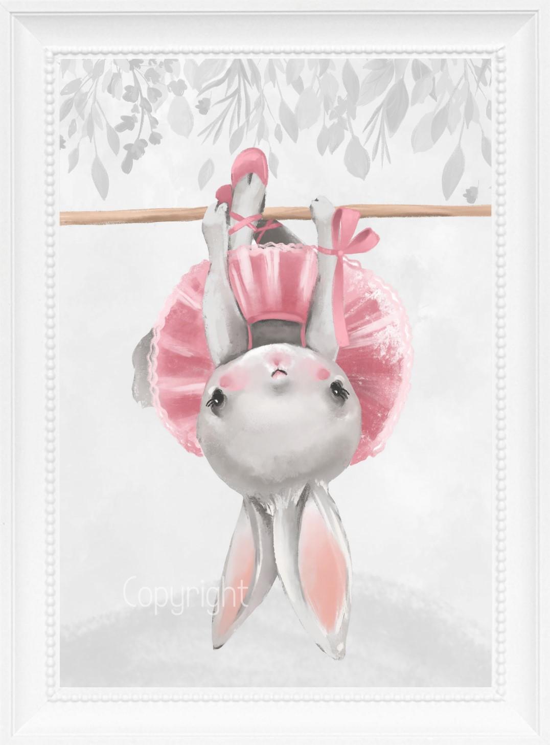 Kinderzimmer bilder set tiere prinzessin ballerina baby for Kinderzimmer bilder tiere