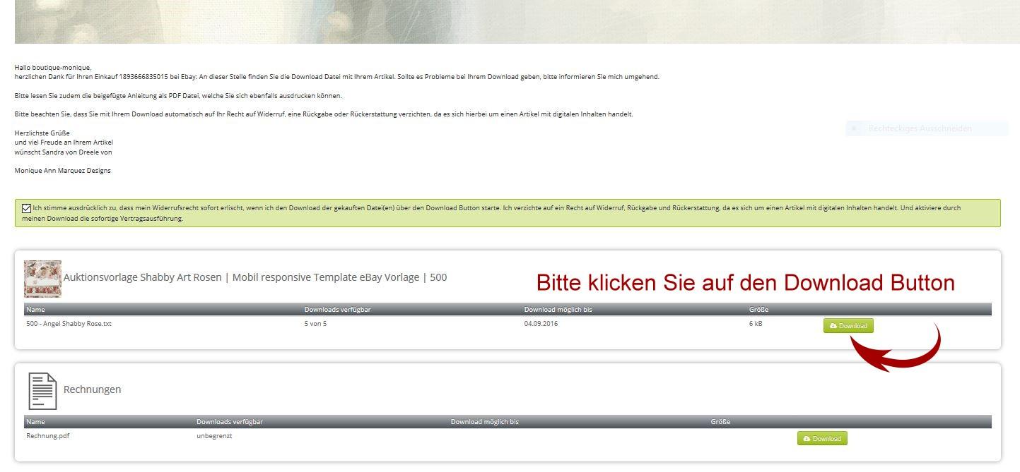 Bilder bitte in der HTML Ansicht einfuegen